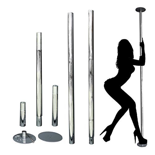 HETHRONE Professional Rotary Stationary Dancing Pole 45mm 1.5 thickness Spinning & Static by HETHRONE