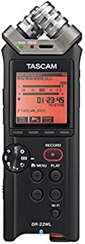 Tascam 2-Ch. Handheld Audio Recorder with Wi-Fi