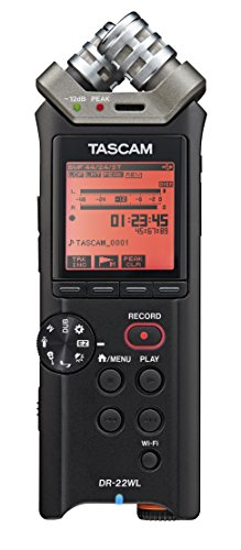 Tascam DR-22WL Portable Handheld Recorder with WiFi