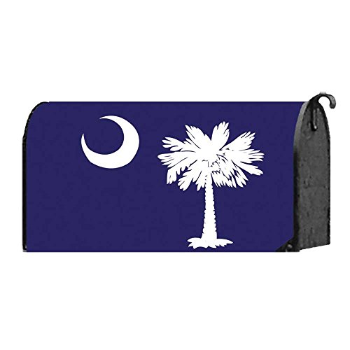 Navy Blue South Carolina Icon 22 x 18 Standard Size Mailbox - Tailgate Songs Best