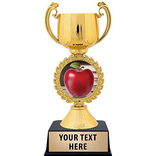 Crown Awards Personalized Apple Trophy, 7.25