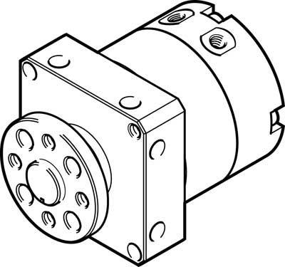 Festo 1564334 Model DSM-T-8-90-P-FW Semi-Rotary Drive Festo Ltd