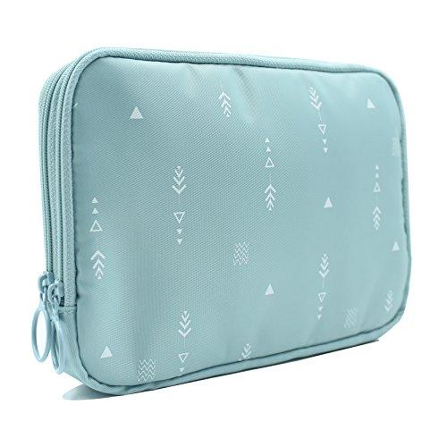 07d4697ce15b Travel Passport Holder Bag for Women (Mint Green)
