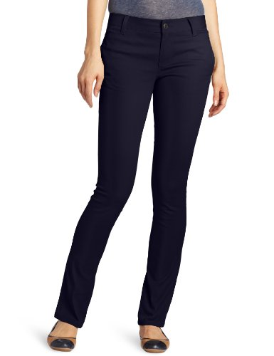 Lee Uniforms Juniors Original Skinny Leg Pant, Navy, 9 - Womens Navy Uniform