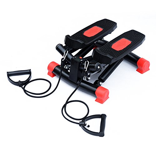 HOMCOM Mini Stepper Gym Exercise Leg Thigh Toning Workout Fitness Stair Arm...