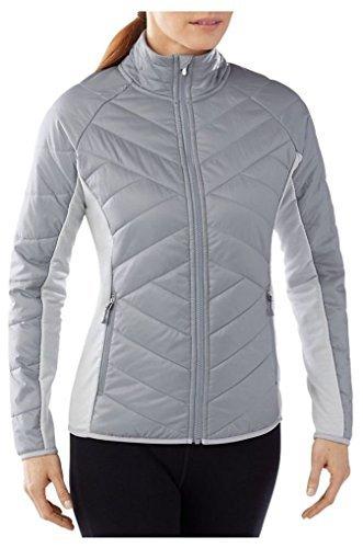 Smartwool Double Corbet 120 Jacket - Women's Silver X-Large