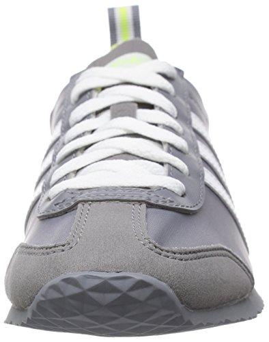 Ginnastica Uomo Scarpe Bianco 41 Grigio Grigi Da Adidas nWq18E67BW