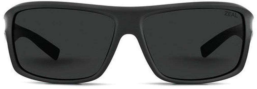 Zeal Optics Unisex Range Black W/ Dark Grey Lens Goggles