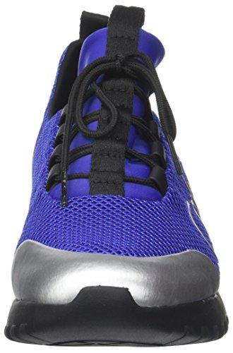 Multicolore Grey Noir Baskets Ron Mesh Calvin Metal blue Klein Homme Silver Brushed H80nZz