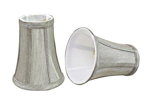 Aspen Creative 30246-2 Small Bell Shape Chandelier Clip-on L