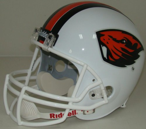 Oregon State Beavers Riddell VSR4 Replica Full Size Football Helmet by Riddell