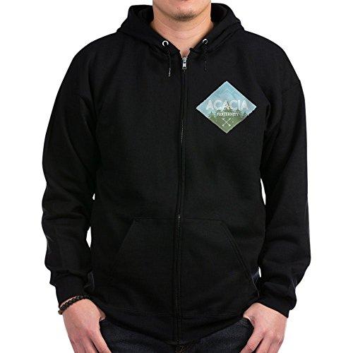 CafePress - Acacia Mountain Diamond Blue - Zip Hoodie, Classic Hooded Sweatshirt with Metal Zipper
