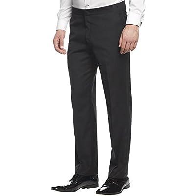 Ryan Seacrest Mens Wool Slim Fit Tuxedo Pant hot sale
