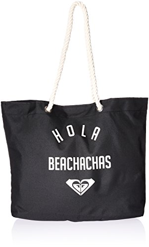 Roxy Printed Tropical Vibe Tote Beach Bag, Anthracite