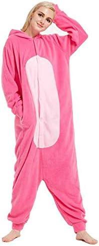 JIAWEIDAMAI Pijama de Pantera Rosa de Forro Polar para Adulto ...