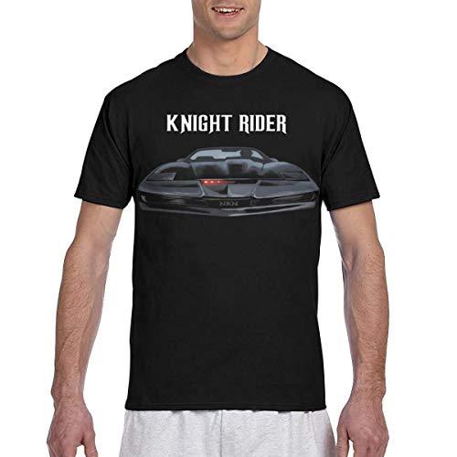 SAMANTHA NAYLOR Mens Vintage Knight Rider Classic Tee L Black