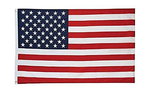 JTD Asta to go 3-FOOT X 5-Foot apantallado Nylon bandera de Estados Unidos