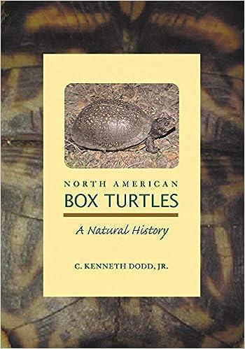 North American Box Turtles A Natural History