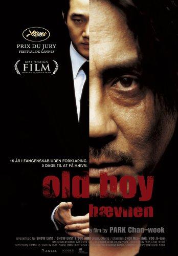 Oldboy Circular Movie Danish 11x17 Min-sik Choi Ji-tae Yu Dae-han Ji Dal-su Oh