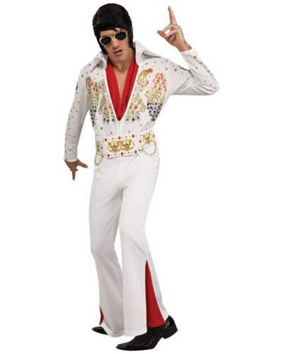 Elvis Presley - Adult Deluxe Jumpsuit Costume