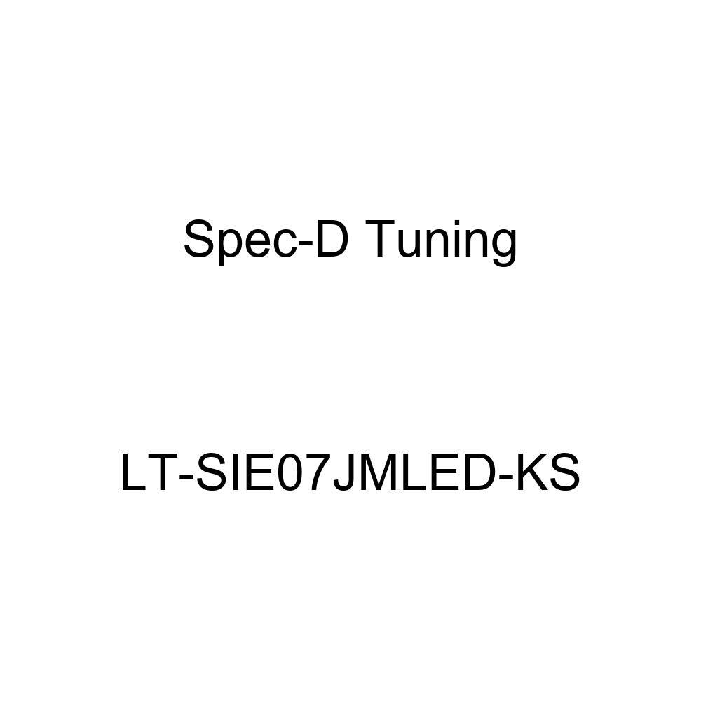Spec-D Tuning LT-SIE07JMLED-KS Black Tail Light Led