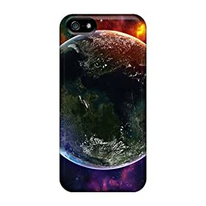 Upd1183vCoc Colorful Space Universe Fashion 5/5s Cases Covers For Iphone