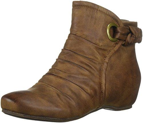 BareTraps Women's Bt Salie Ankle Bootie, Whiskey, 8 US/8 M US