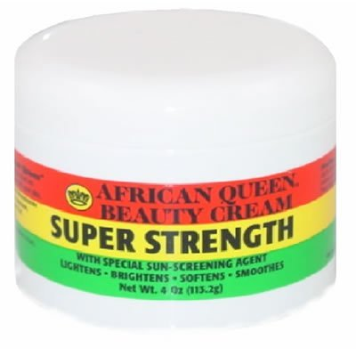African Queen Beauty Cream Super Strengths 4 Oz