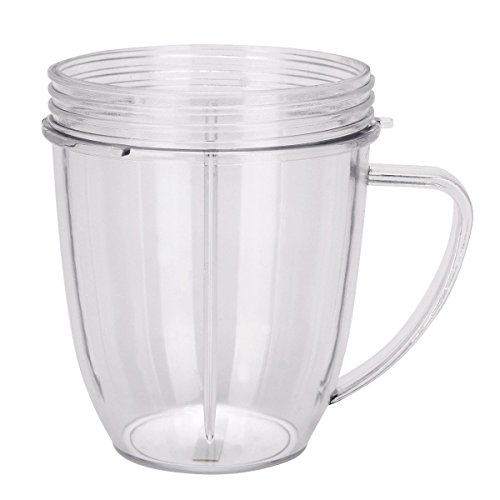 Sduck 18 OZ Small Cup with handle juicer accessories For NUTRIBULLET Blender Juicer, Replacement Parts for Nutribullet, by Sduck