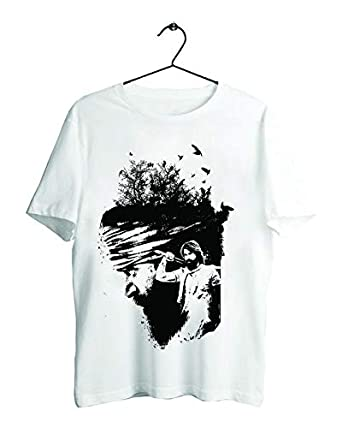 Teeskart24 Rocking Star Yash Movie Kgf Exclusive T Shirt Amazonin
