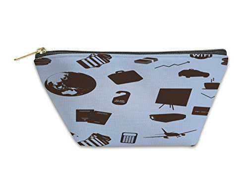 Gear New Accessory Zipper Pouch, Business Trip Pattern, Small, 3658767GN by Gear New (Image #2)