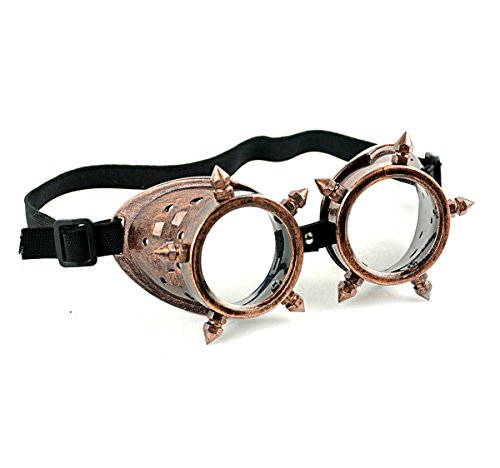 Mask-It Copper Steam Punk - Fancy Goggles