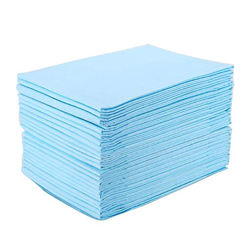 Carejoy Adult Baby Disposable Changing Pad,35PCS Portable Breathable Absorbent Diaper Nursing Pad Adult, Baby by Carejoy