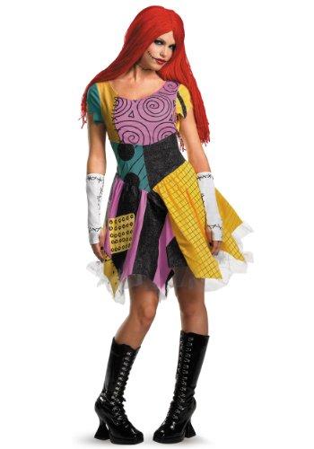 Nightmare Before Christmas Sexy Sally Costume - (Sally Nightmare Before Christmas Fancy Dress)