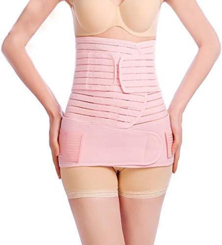 GAOJIE 腹部ベルト - 母体の腹部ベルト、帝王切開、通気性のベルト、骨盤腹部ベルト (色 : Pink, サイズ : S)
