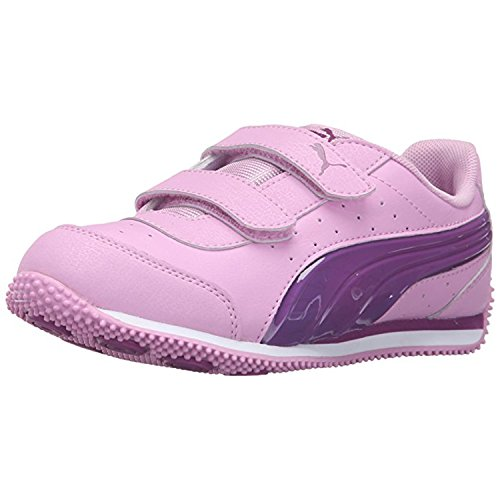 79e26f892095 Galleon - PUMA Kids Speed Light Up V PS Sneaker (Little Kid Big Kid ...