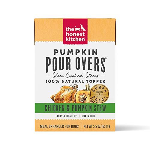 Kitchen Pumpkin - Honest Kitchen Pumpkin Pour Overs 5.5 Oz Carton (12 Pack)