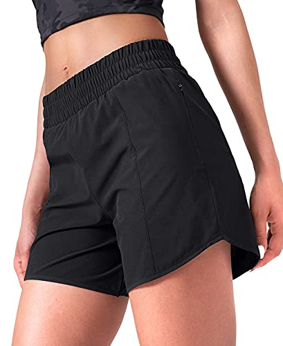 CELER Women's Workout Running Shorts Quick Dry Elastic Waist Athletic Sport Gym Shorts with Phone Pocket 5