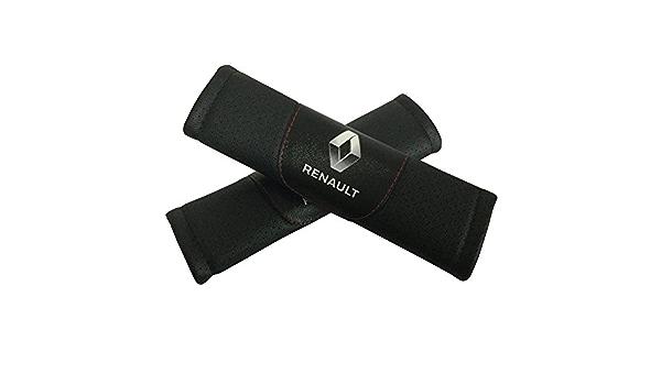 para Renault Captur Almohadilla Cinturon Coche 2 Pcs Protectores Hombro De Velcro para Aliviar Las Molestias En Los Hombros 23cm para Cintur/óN Coche Seguridad LCRAKON Almohadillas
