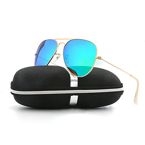 VOPOLAR Sunglasses for Women Men Aviator Polarized Unisex Superlight UV Driving