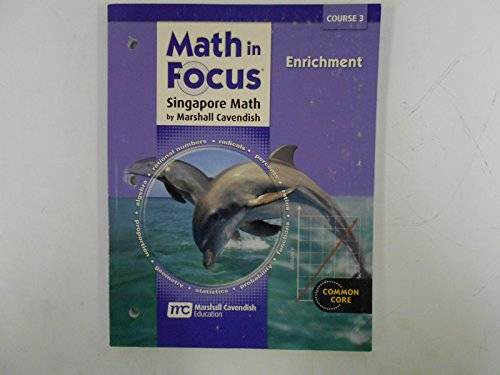 Math in Focus: Singapore Math: Enrichment Book Course 3