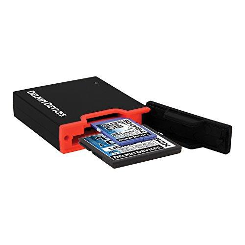 Delkin USB 3.0 Dual Slot SD UHS-II and CF Memory Card Reader (DDREADER-44)