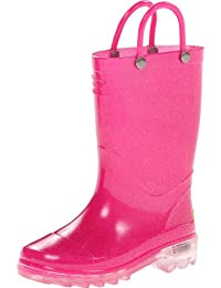 Western Chief Lighted Solid Rain Boot (Toddler/Little Kid)