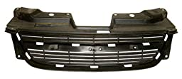 OE Replacement Chevrolet Cobalt Grille Assembly - Upper, Painted (Partslink Number GM1200545)