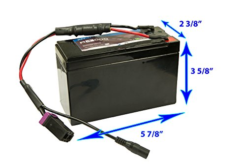 Lead Battery for Bravo Electric Pumps for Inflatable Boats, SUPs and Kayaks