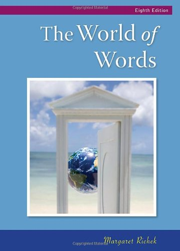 The World of Words: Vocabulary for College Success