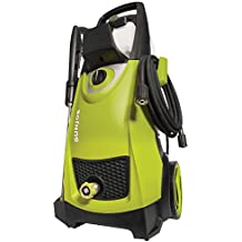 Sun Joe SPX3000-RM 2030 PSI 1.76 GPM Electric Pressure Washer (Certified Refurbished), Black & Green