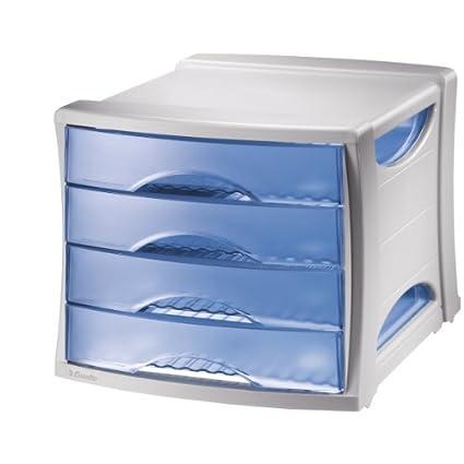 ESSELTE VIVIDA Cassettiera 4 cassetti Fum/è VIVIDA 28453