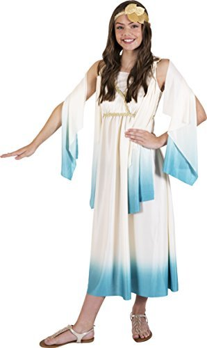 (Kangaroo Halloween Costumes - Greek Goddess Costume, Youth Large)