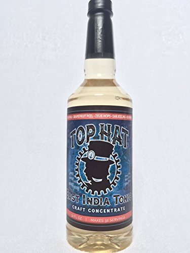 Top Hat East India Tonic Syrup - 32oz bottle (MAKES 32 TONIC SERVINGS)